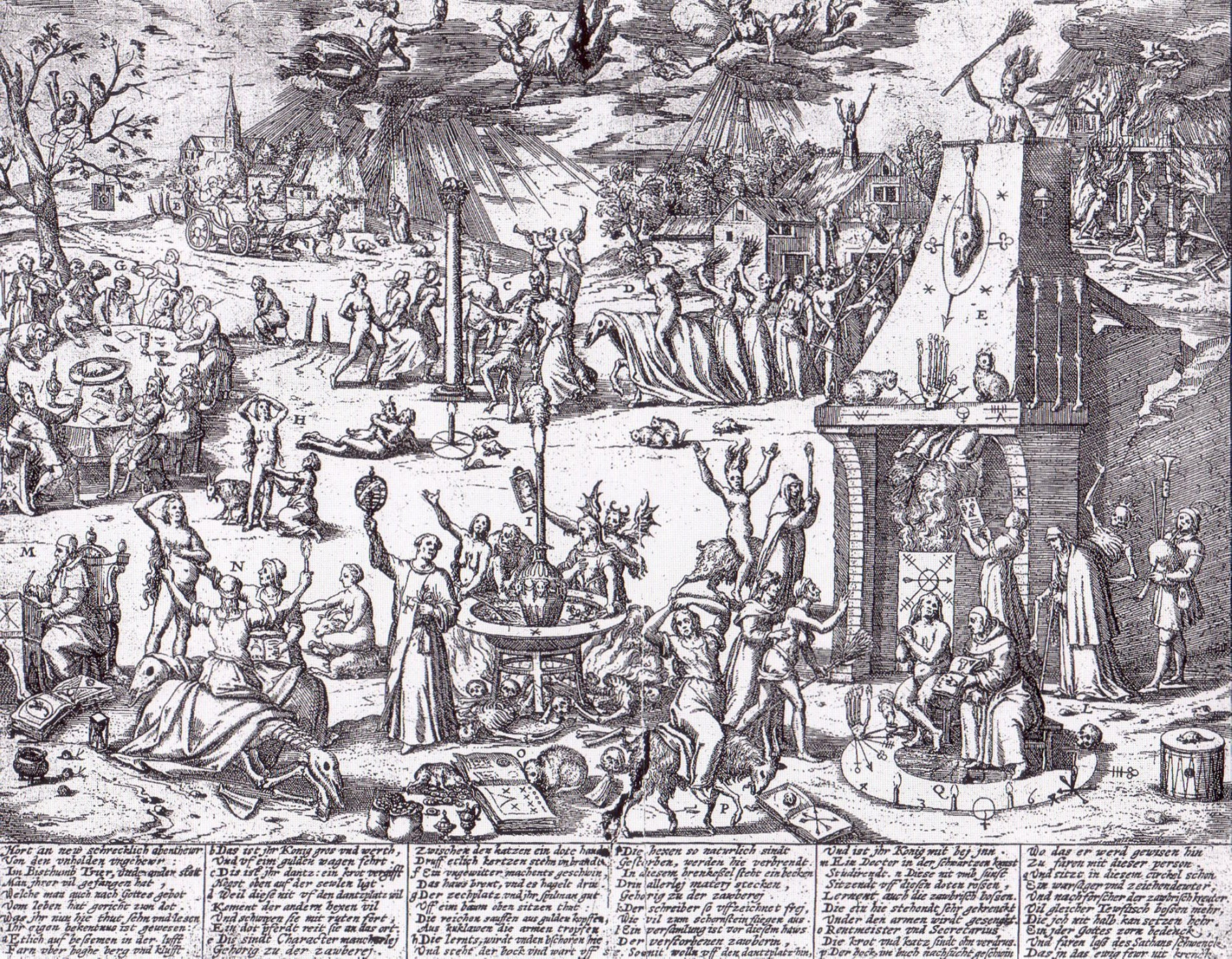 Trier, 1594. Hexentanzplatz